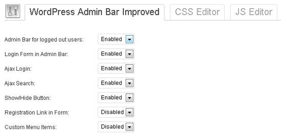 wordpress-admin-bar-improved